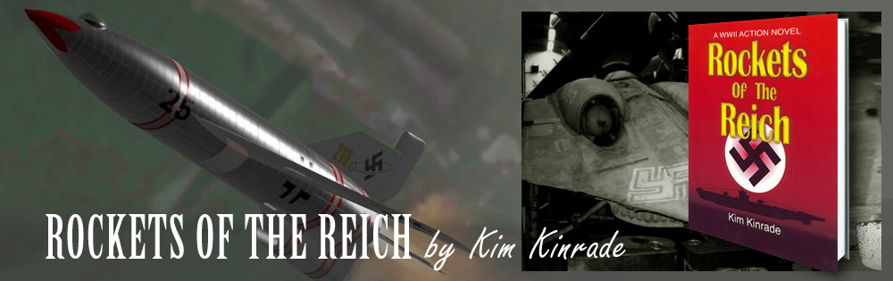 Rockets of the Reich - Novel by Kim Kinrade